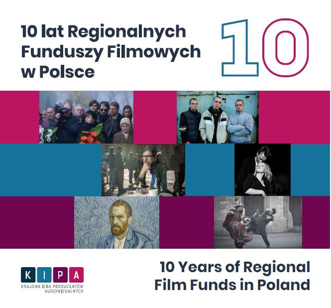 Katalog 10-lat Regionalnych Funduszy Filmowych